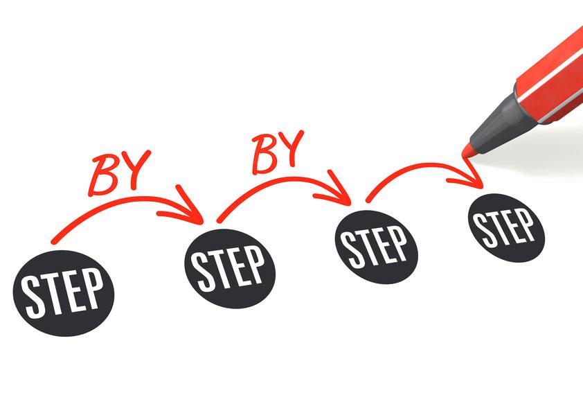Step-by-step zum Erfolg